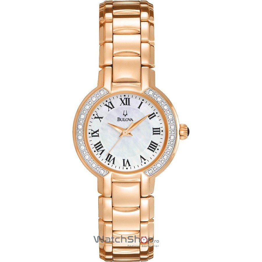 Ceas Bulova DIAMOND 98R156 Fairlawn – Ceasuri de dama Bulova