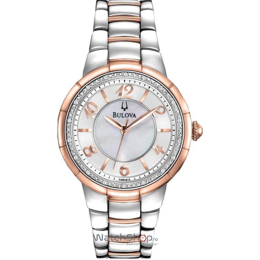 Ceas Bulova DIAMOND 98R162 Rosedale – Ceasuri de dama Bulova