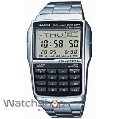 Ceas Casio DATA BANK DBC-32D-1AES Baterie 10 ani – Ceasuri barbatesti Casio