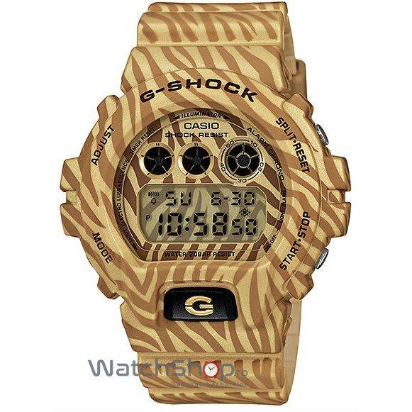 Ceas Casio G-SHOCK DW-6900ZB-9ER Zebra