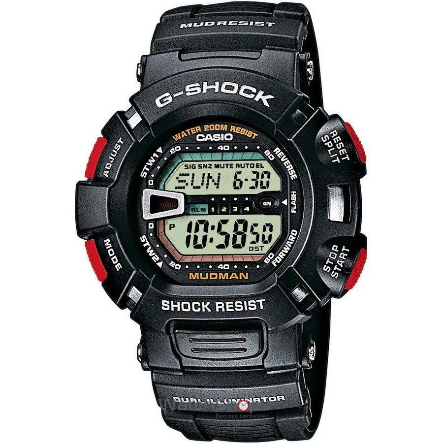 Ceas Casio G-SHOCK G-9000-1V Mudman – Ceasuri barbatesti Casio