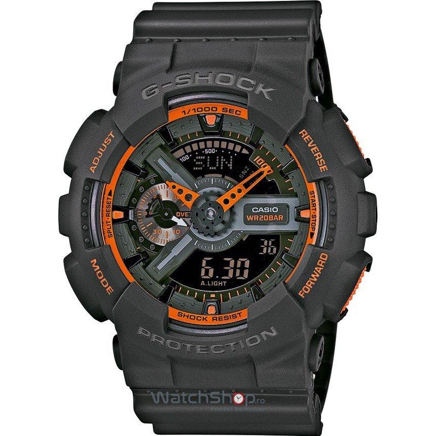 Ceas Casio G-SHOCK GA-110TS-1A4ER Antimagnetic Hyper Colours – Ceasuri barbatesti Casio