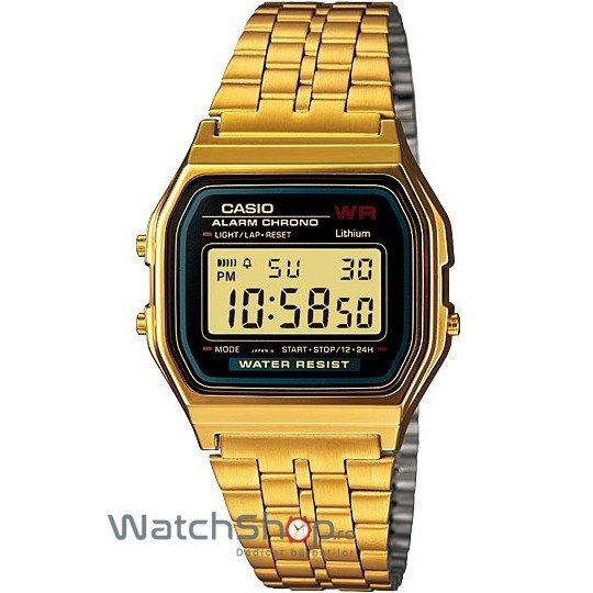 Ceas Casio RETRO A159WGEA-1DF Gold – Ceasuri de dama Casio