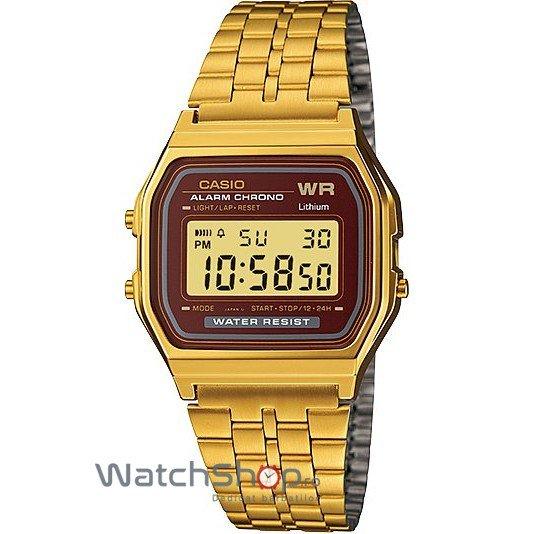 Ceas Casio RETRO A159WGEA-5DEF Gold – Ceasuri de dama Casio