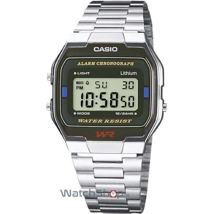 Ceas Casio RETRO A163WA-1QES – Ceasuri barbatesti Casio