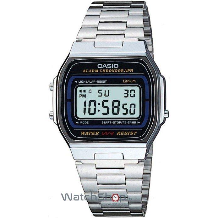 Ceas Casio RETRO A164WA-1VES – Ceasuri barbatesti Casio