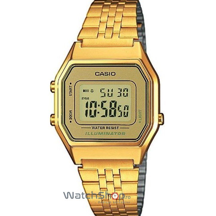Ceas Casio RETRO LA680WGA-9D Gold – Ceasuri de dama Casio