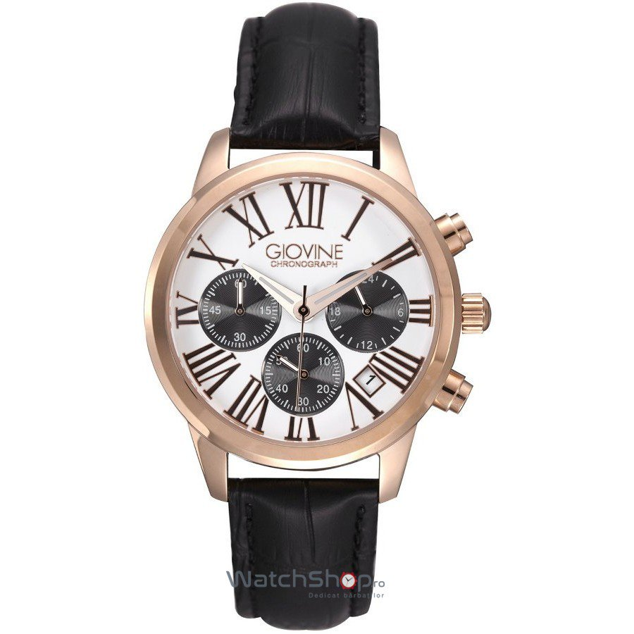 Ceas Giovine SOFIA OGI005/C/L/RG/BN/NR Cronograf – Ceasuri de dama Giovine