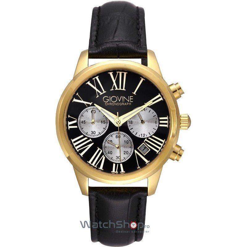 Ceas Giovine SOFIA OGI005/C/L/YG/NR/NR Cronograf – Ceasuri de dama Giovine