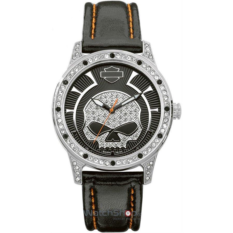 Ceas Harley-Davidson STRAP 76L140 – Ceasuri de dama Harley-Davidson
