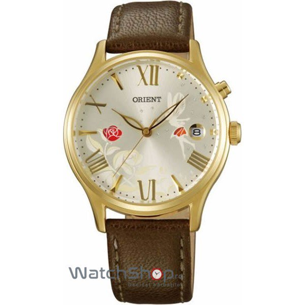 Ceas Orient FASHIONABLE AUTOMATIC DM01005S Happy Stream – Ceasuri de dama Orient