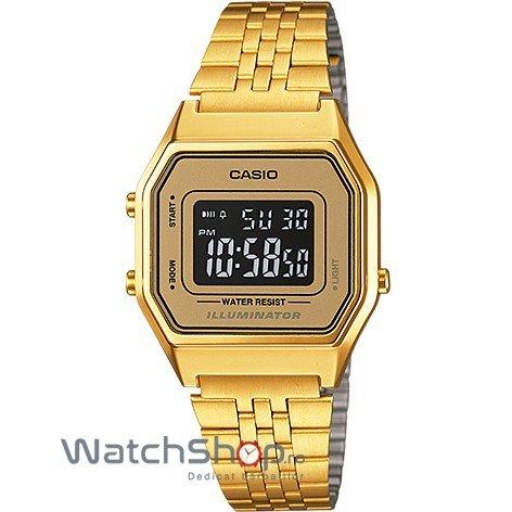 Ceas Casio RETRO LA680WGA-9BDF Gold – Ceasuri de dama Casio
