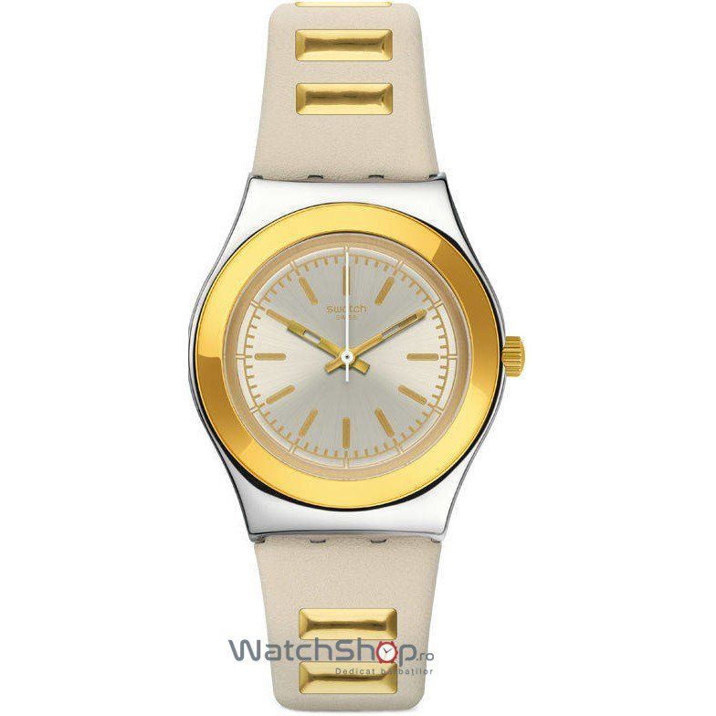 Ceas Swatch IRONY YLS195 Golden Steps – Ceasuri de dama Swatch