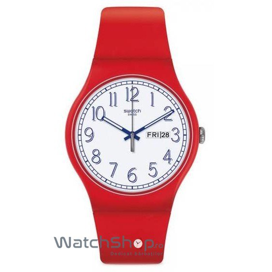 Ceas Swatch ORIGINALS SUOR707 Red Me Up – Ceasuri barbatesti Swatch