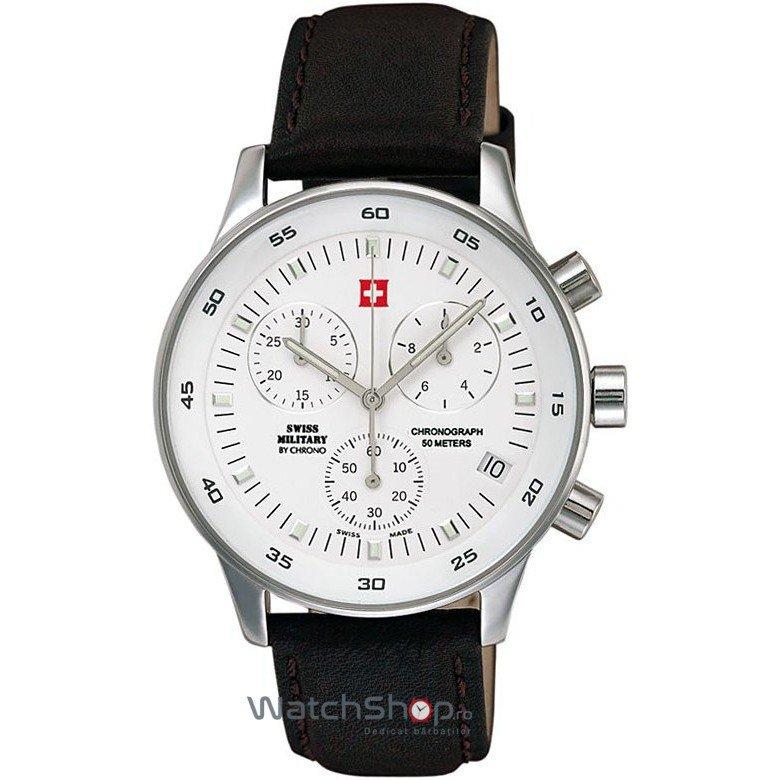 Ceas SwissMilitary by CHRONO 17700ST-2L Cronograf – Ceasuri barbatesti SwissMilitary