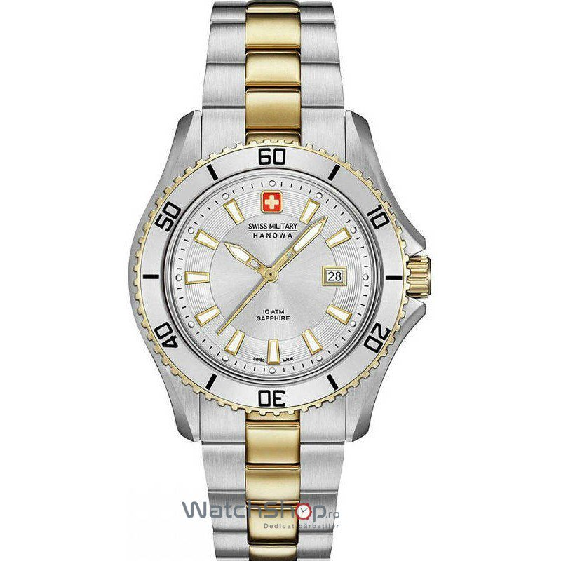 Ceas Swiss Military by HANOWA 06-7296.55.001 Nautila – Ceasuri de dama Swiss Military