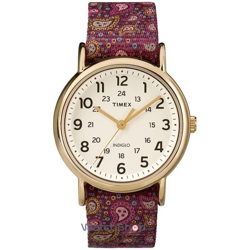 Ceas Timex WEEKENDER TW2P81000 Paisley – Ceasuri de dama Timex