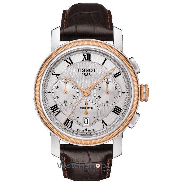 Ceas Tissot T-CLASSIC T097.427.26.033.00 Bridgeport Automatic Cronograf – Ceasuri barbatesti Tissot