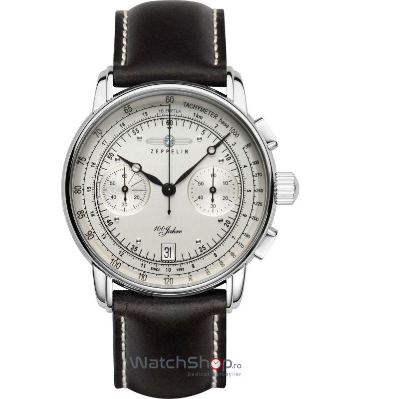 Ceas Zeppelin 100 YEARS 7670-1 Cronograf – Ceasuri barbatesti Zeppelin