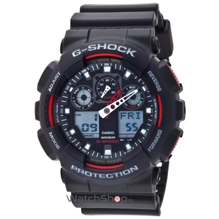 Ceas Casio G-SHOCK GA-100-1A4ER Antimagnetic